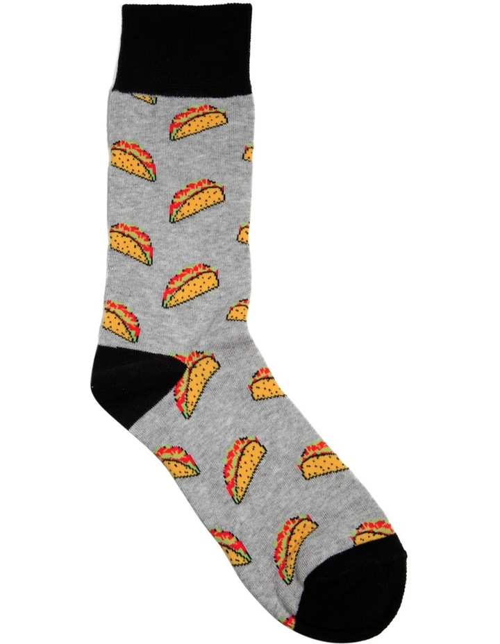 Taco Time Casual Sock image 2