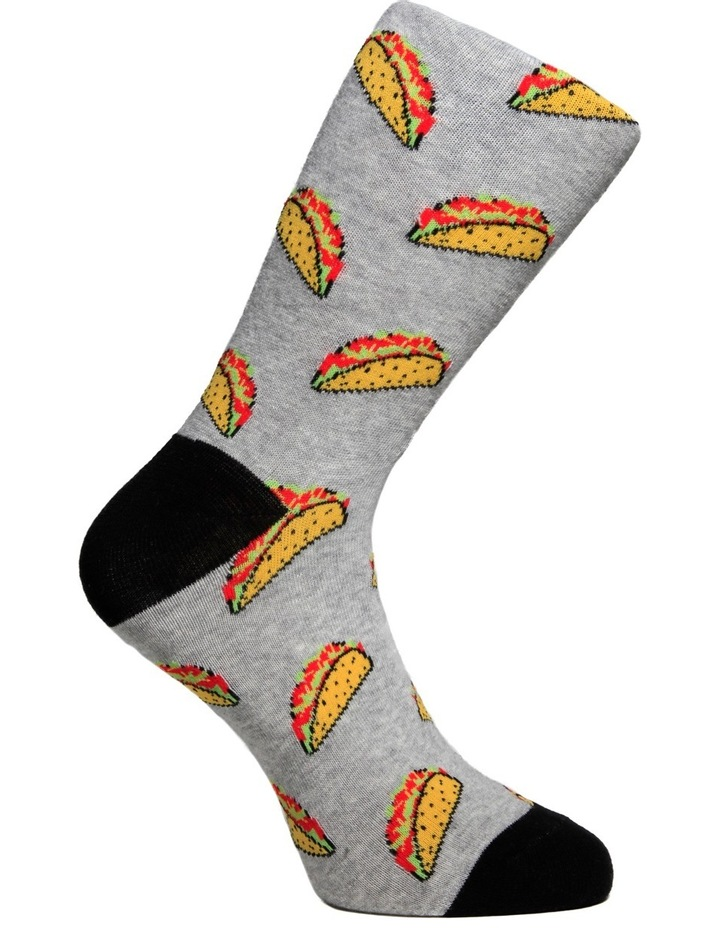 Taco Time Casual Sock image 6