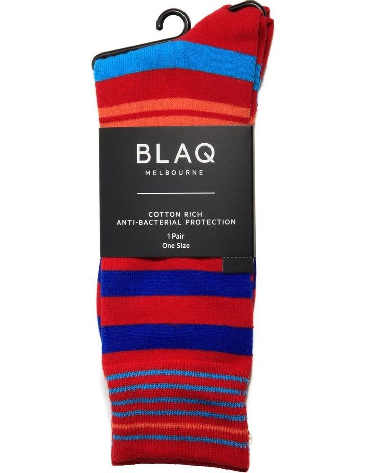 Bright Stripe Fashion Crew Sock image 2