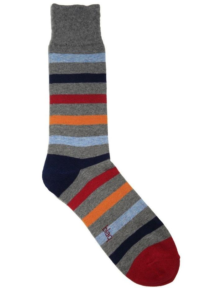 Winter Stripe Crew Sock image 1