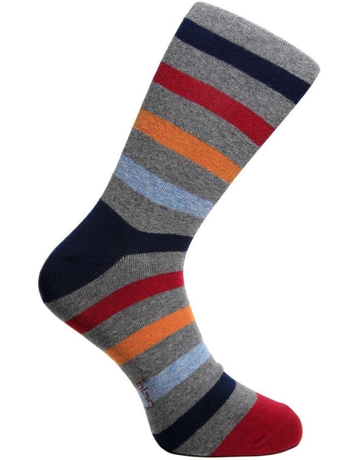 Winter Stripe Crew Sock image 3