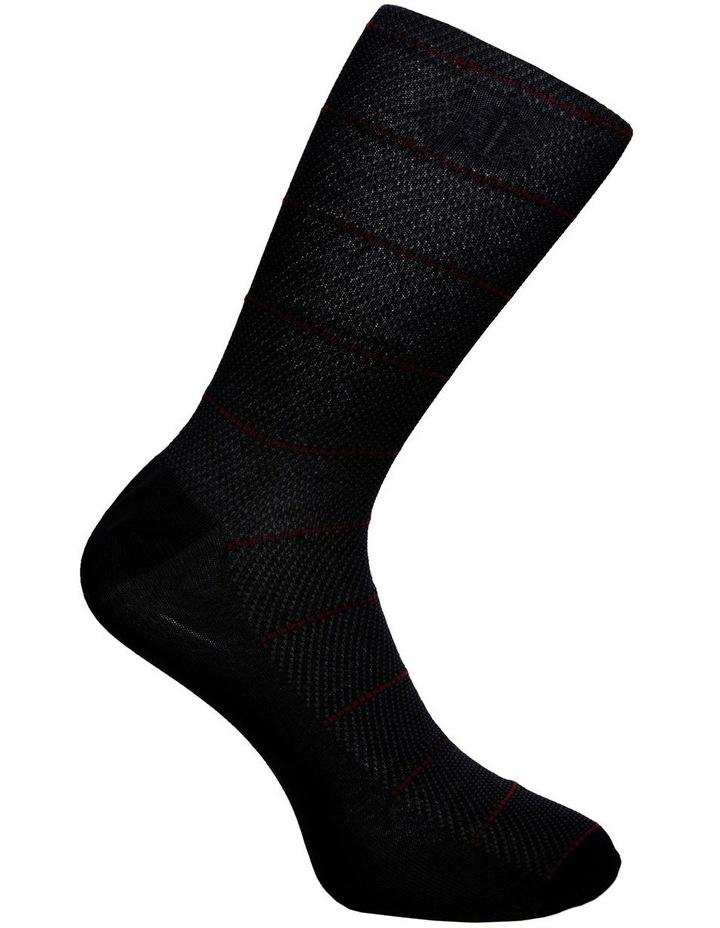 2 Pack Geo Mercerised Business Socks image 4