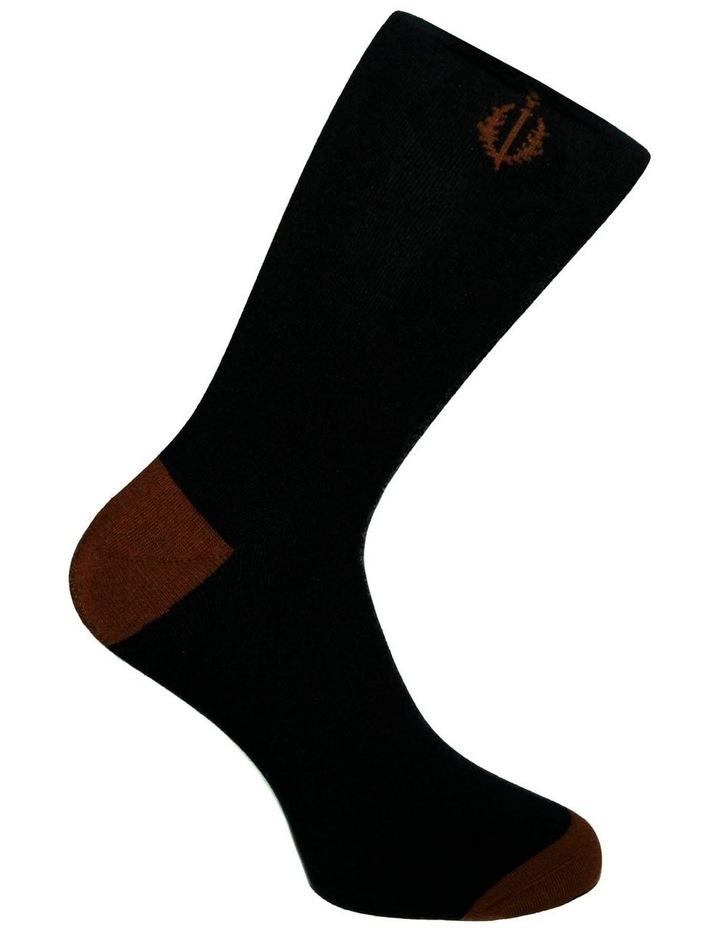 3 Pack Luxe Chevron Geo Business Socks image 4