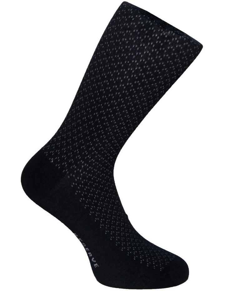 3 Pack Luxe Birdseye Business Socks image 5