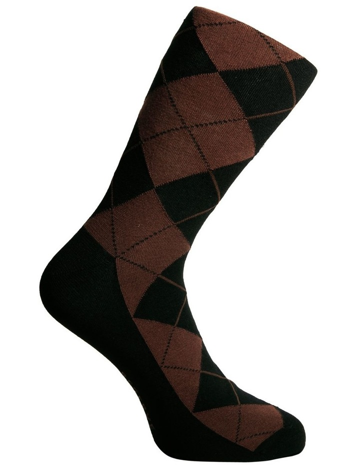 3 Pack Luxe Argyle Business Socks image 3