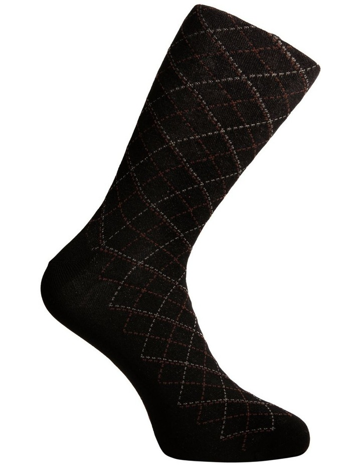 3 Pack Luxe Argyle Business Socks image 5