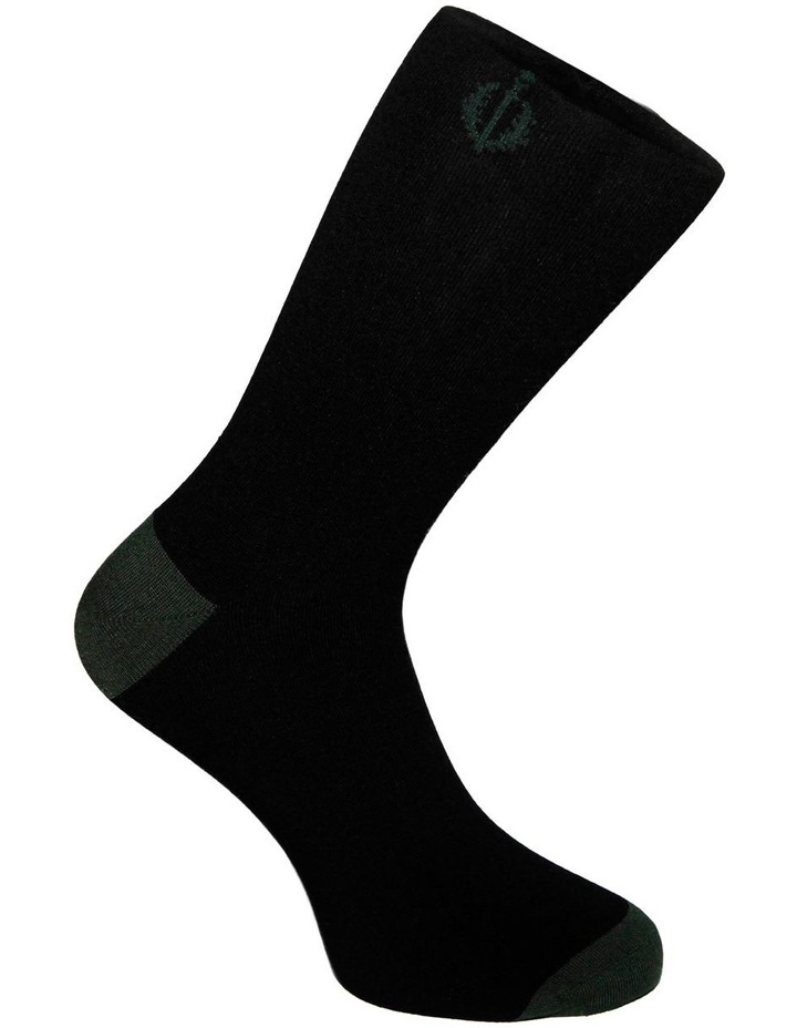 3 Pack Luxe Floral Business Socks image 4
