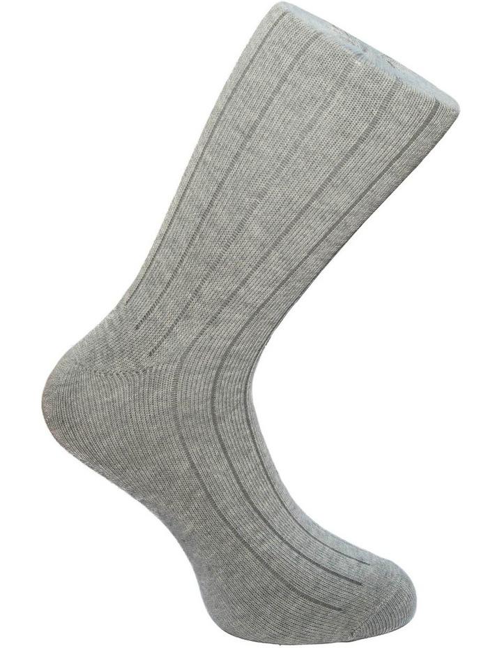 3 Pack Rib Jean Sock image 5