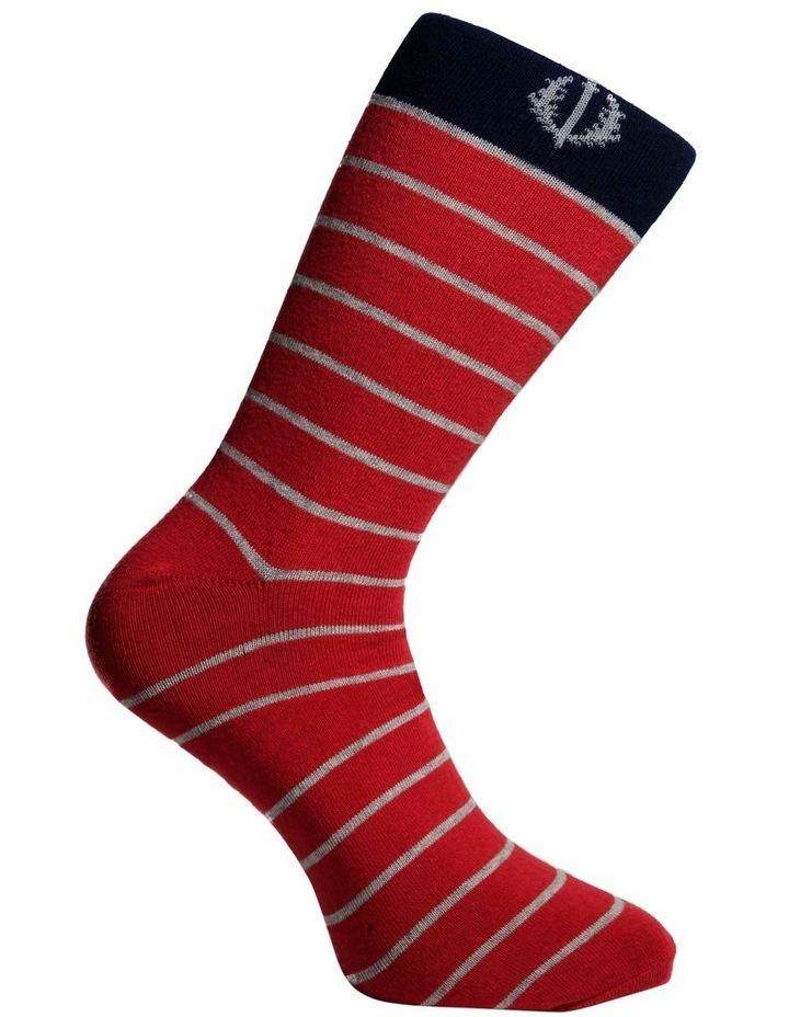 3 Pack Stripe Cotton Sock image 3