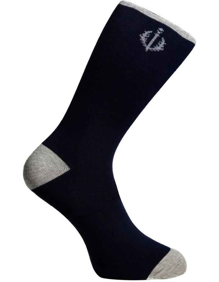 3 Pack Stripe Cotton Sock image 4