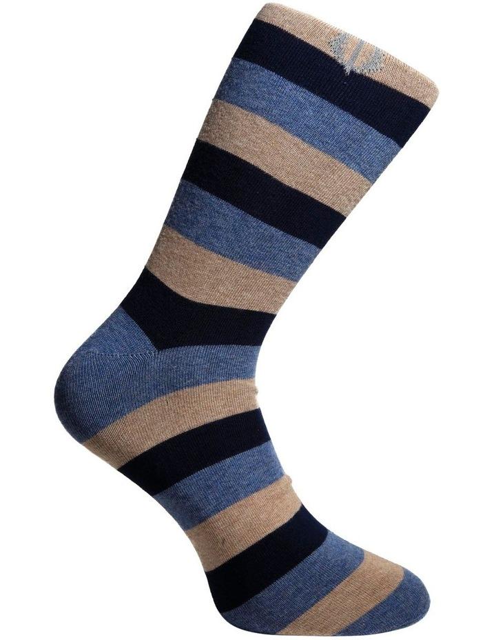 3 Pack Stripe Cotton Sock image 5