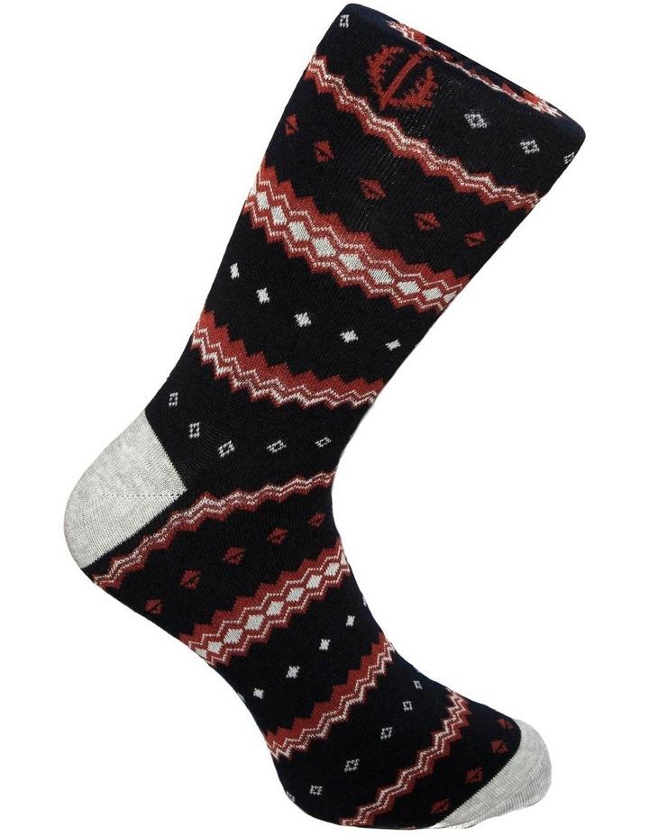3 Pack Fairisle Animals Cotton Sock image 4