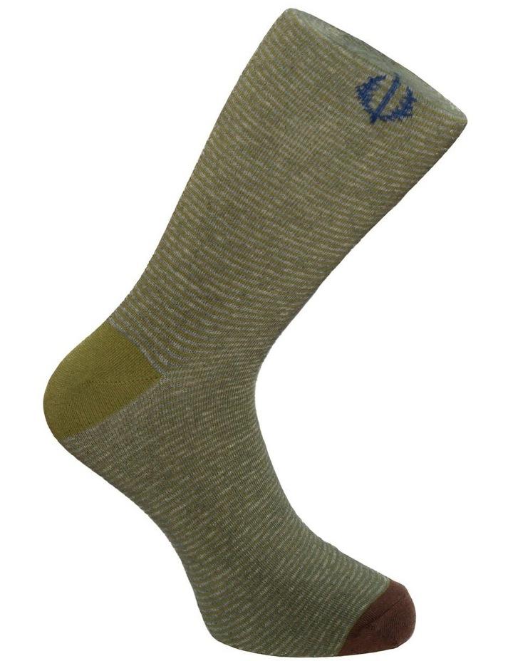 3 Pack Stripe Spot Cotton Sock image 4