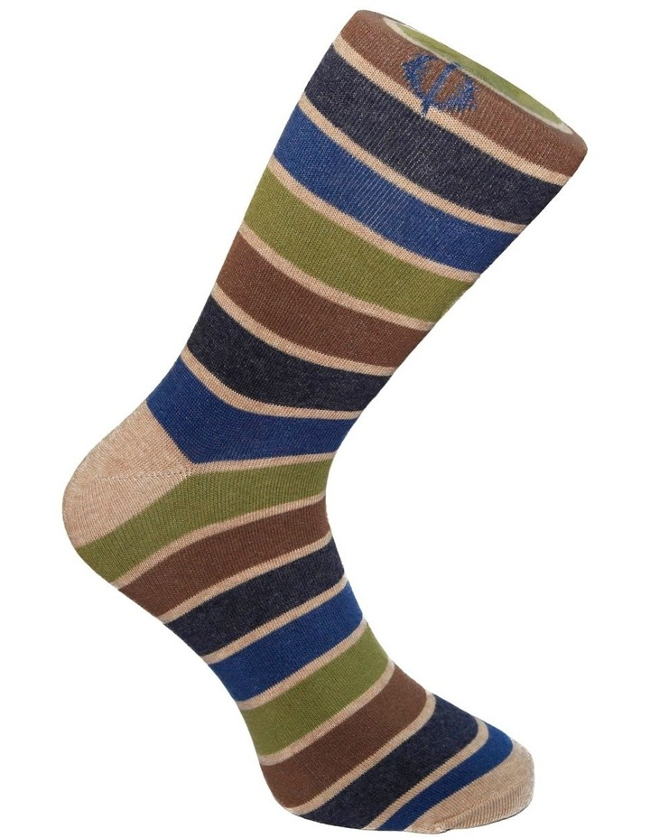 3 Pack Stripe Spot Cotton Sock image 5