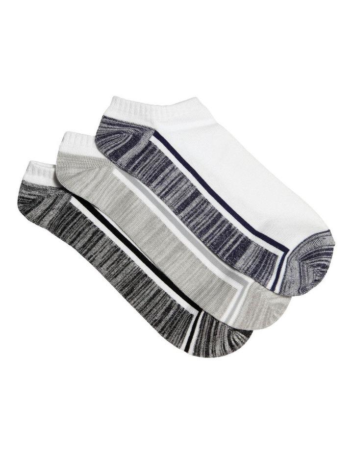 3 Pack Bamboo Sneaker Sock image 1
