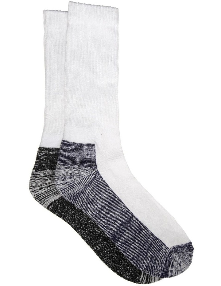 Bamboo Sports Crew Sock - Pack of 2 image 1