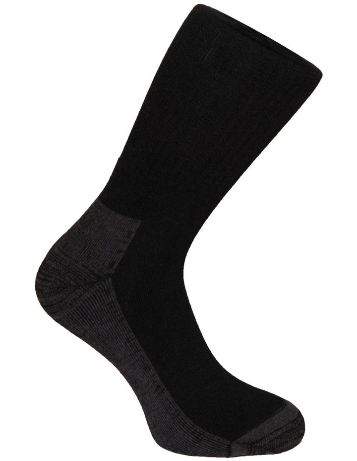 2 Pack Bamboo Sports Crew Sock image 3