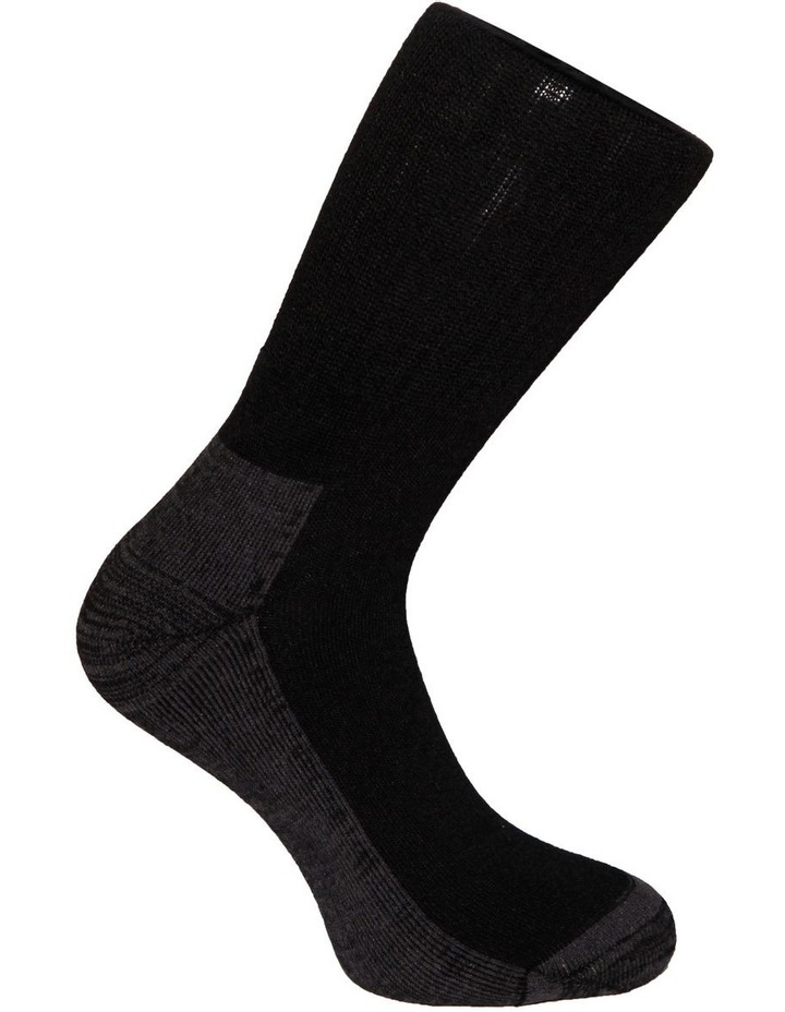 2 Pack Bamboo Sports Crew Sock image 4