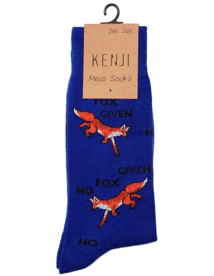 No Fox Given Casual Crew Sock image 2