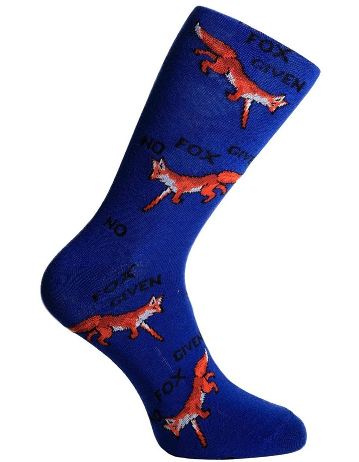 No Fox Given Casual Crew Sock image 3