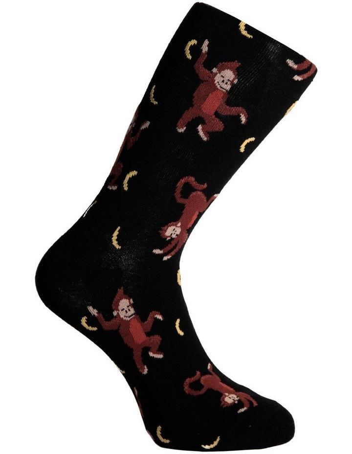 Dancing Baboon Crew Sock image 3