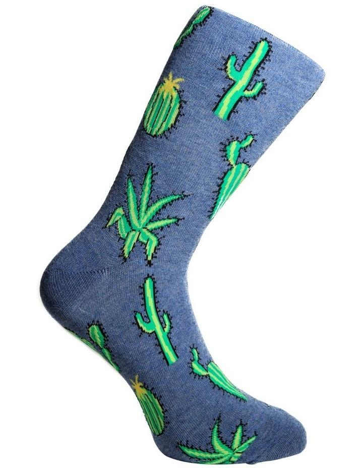 Many Cactus Casual Crew Sock image 3