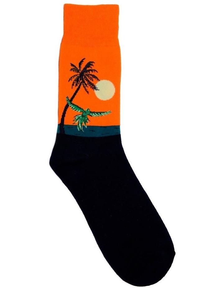 Parrot Landscape Crew Sock image 1