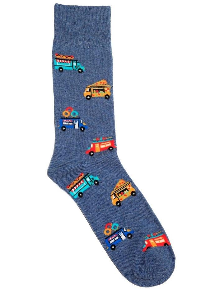 Food Trucks Crew Sock image 1