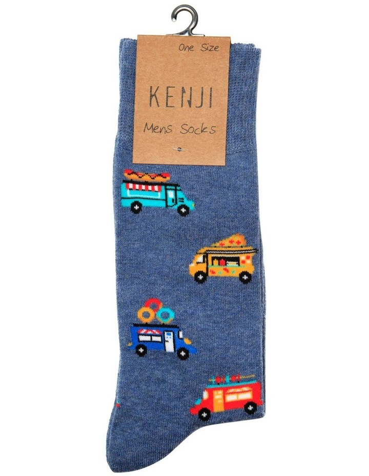 Food Trucks Crew Sock image 2
