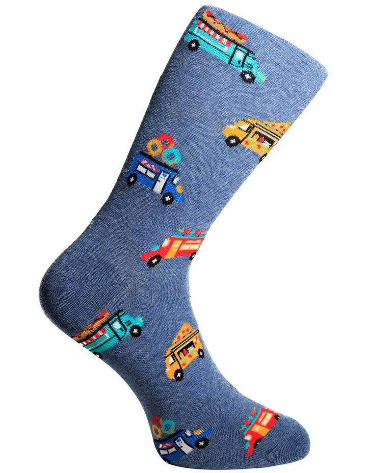Food Trucks Crew Sock image 3