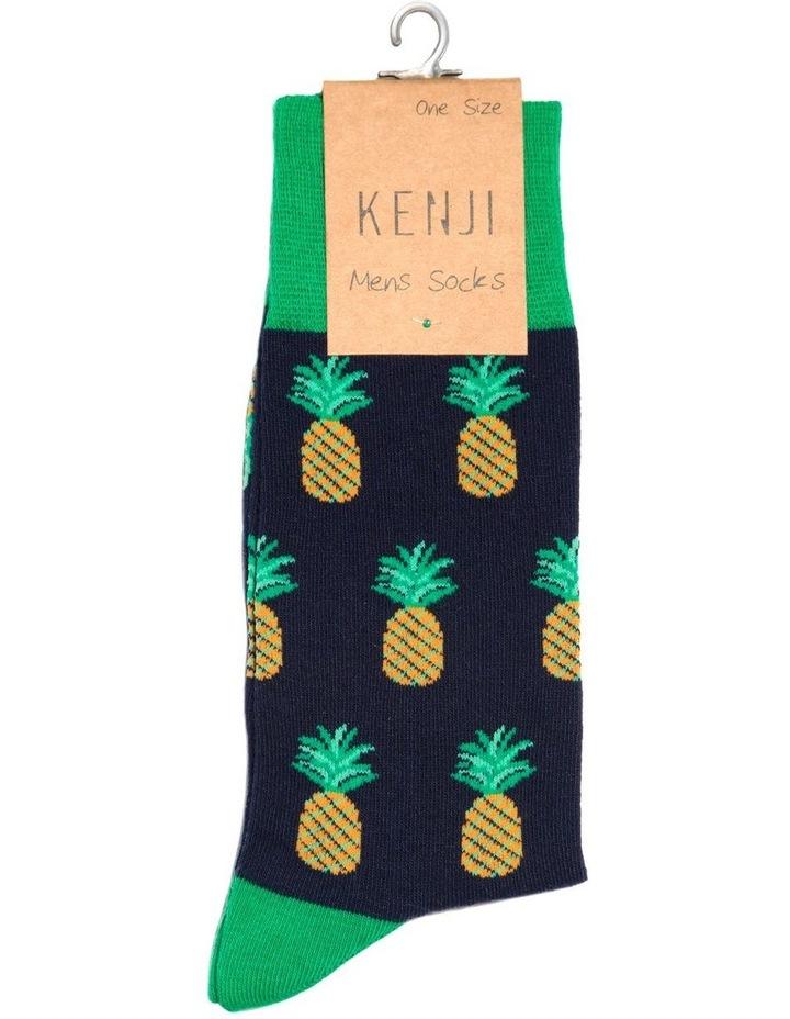 Pineapple Crew Sock image 2