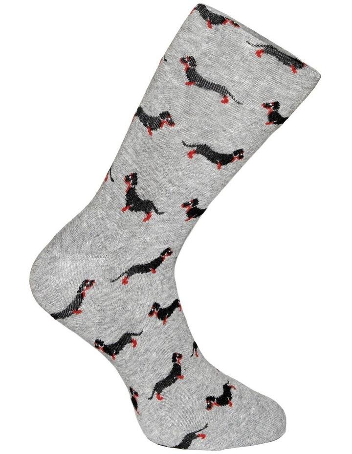 Dachshunds Crew Sock image 3