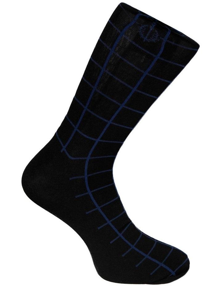 2 Pack Network Mercerised Business Socks image 4