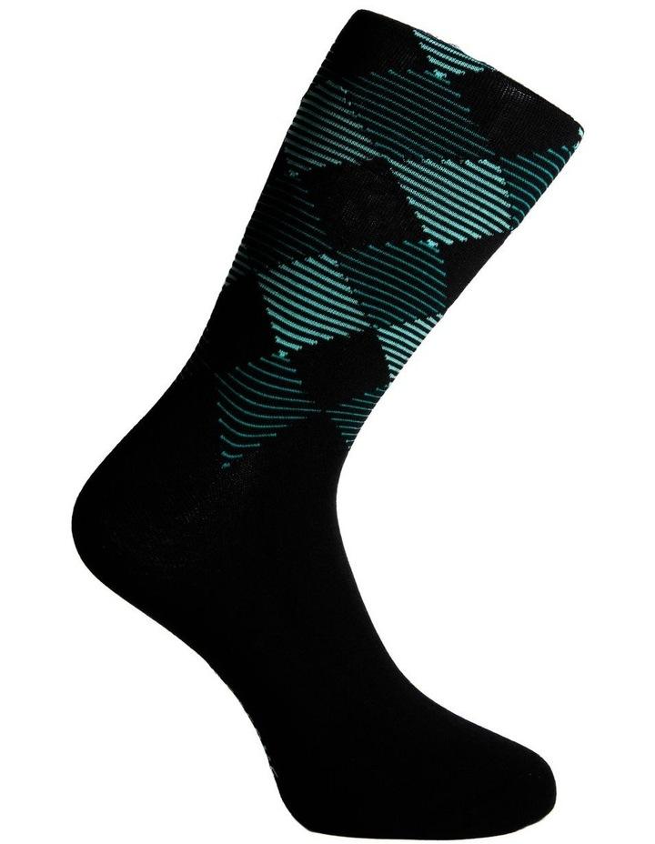 3 Pack Luxe Modern Argyle Business Socks image 3