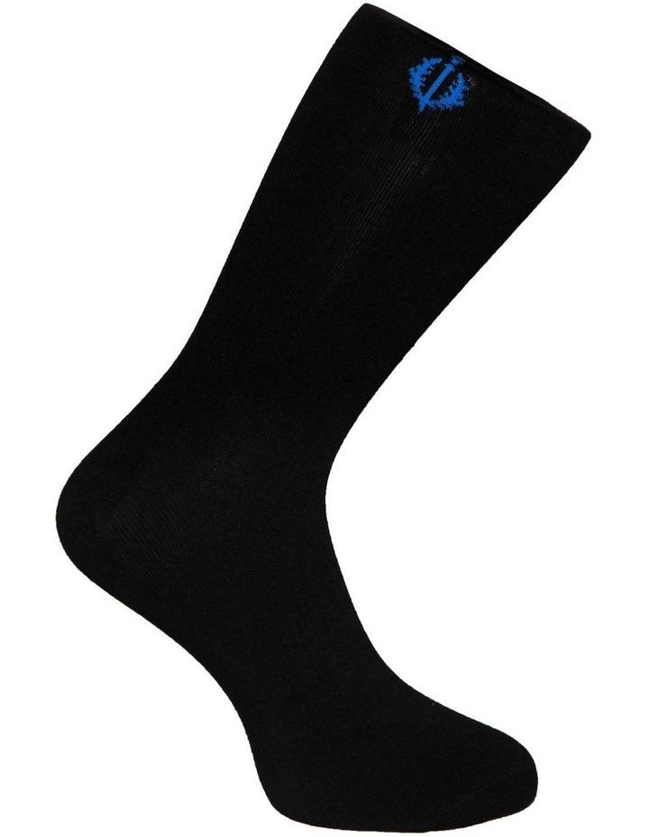 3 PK Luxe Neat Business Socks image 4