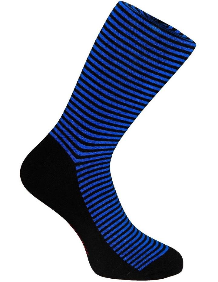 3 PK Luxe Neat Business Socks image 5