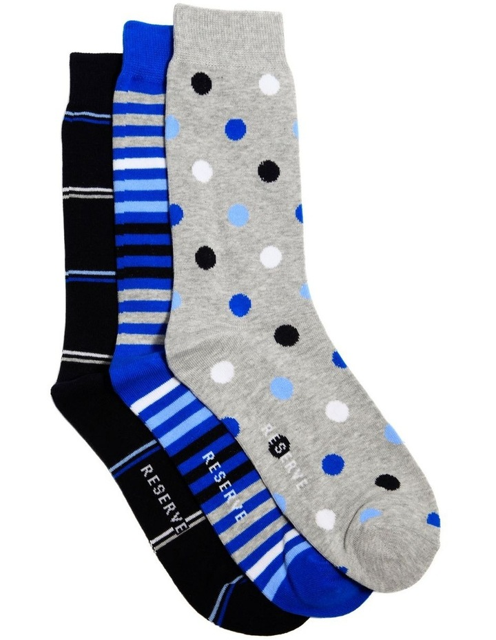 3 Pack Fashion Cotton Sock image 1