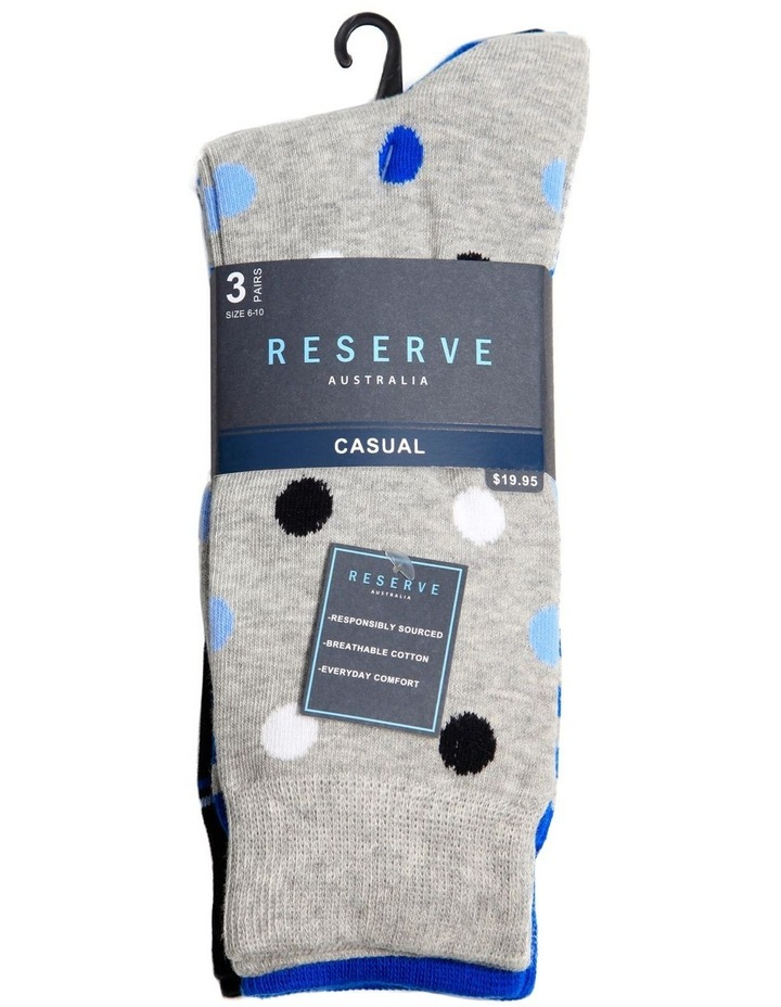 3 Pack Fashion Cotton Sock image 2