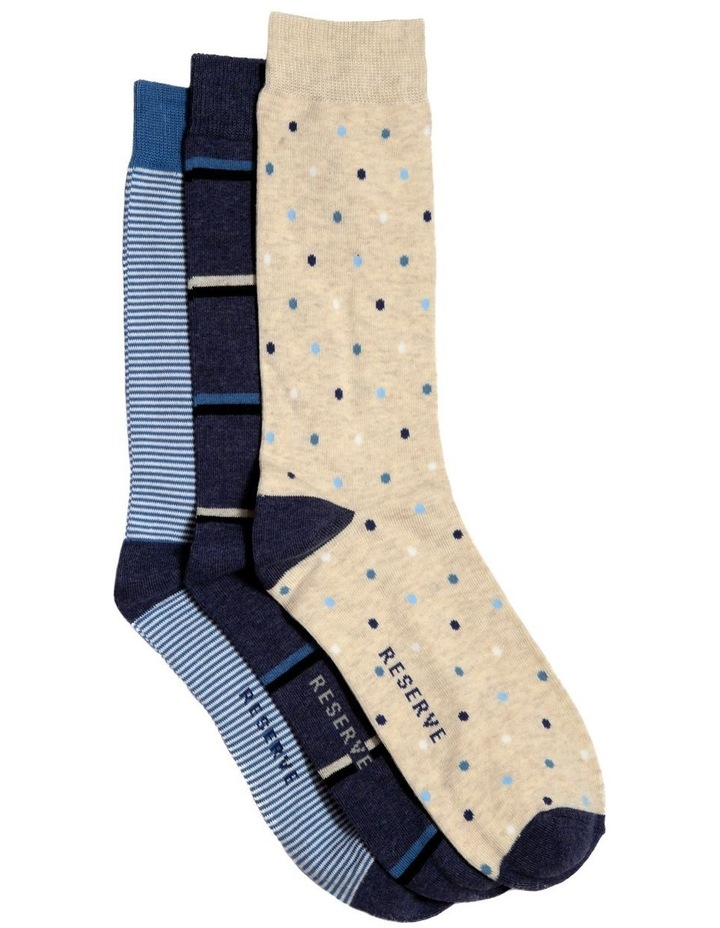3 Pack Fashion Cotton Sock - Weekend Pack image 1