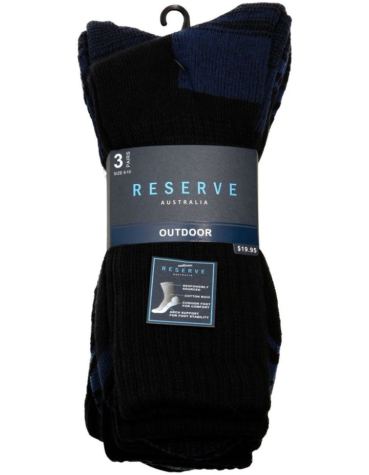 3 Pack Outdoor Sock image 2