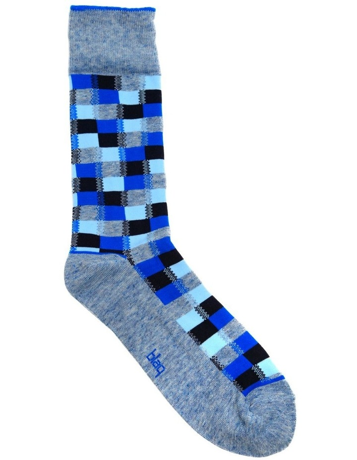 Marle Check Fashion Business Sock image 1