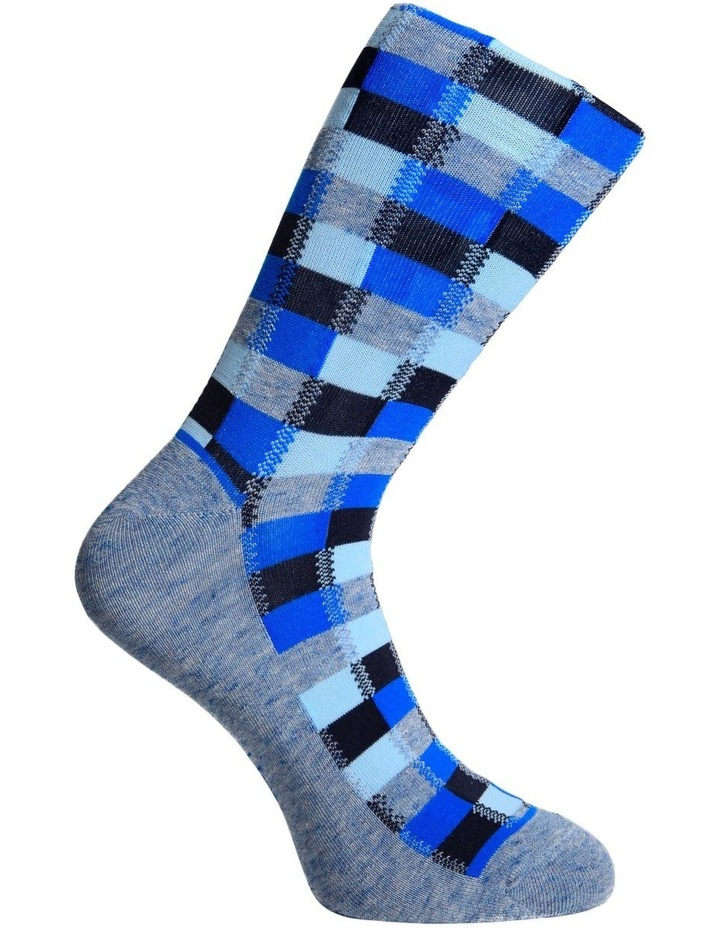 Marle Check Fashion Business Sock image 3