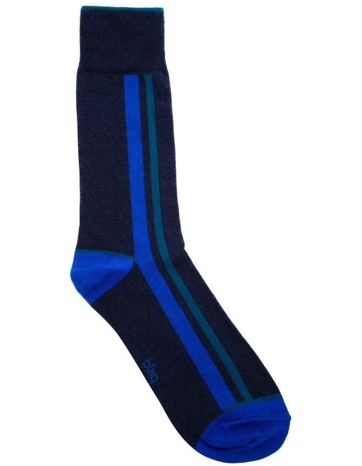 Marle Vertical Stripe Business Sock image 1