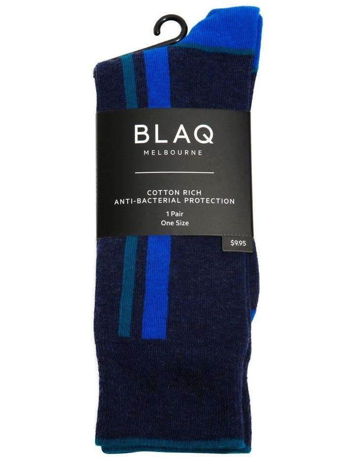 Marle Vertical Stripe Business Sock image 2