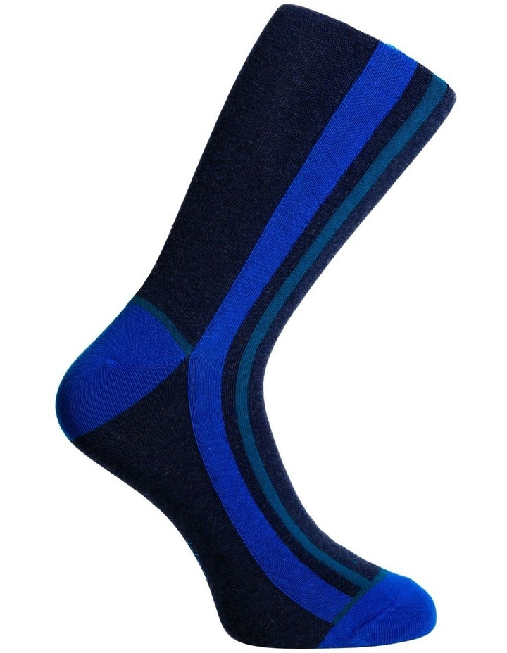 Marle Vertical Stripe Business Sock image 3