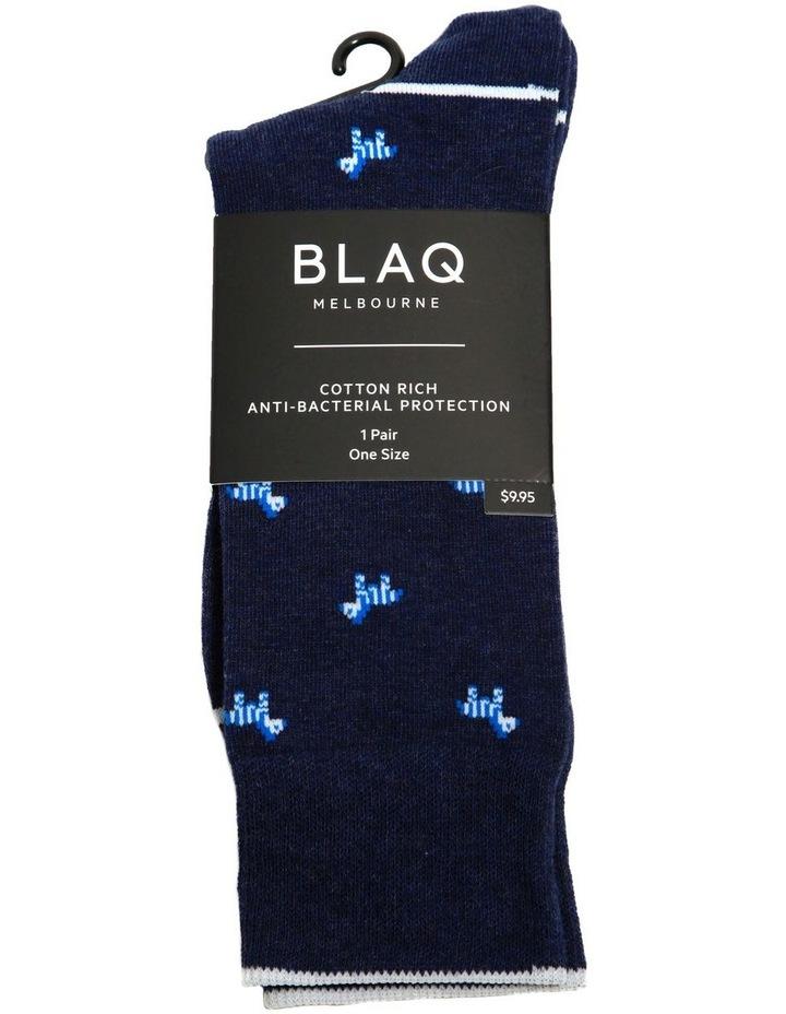 Zebra Fashion Sock image 2
