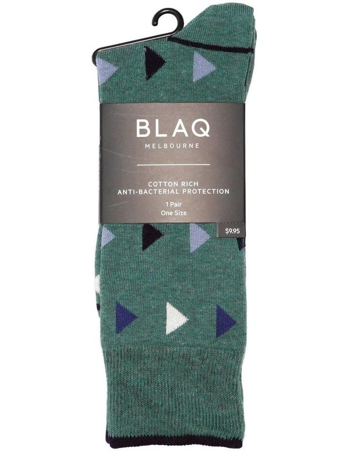 Winter Triangle Casual Sock image 2