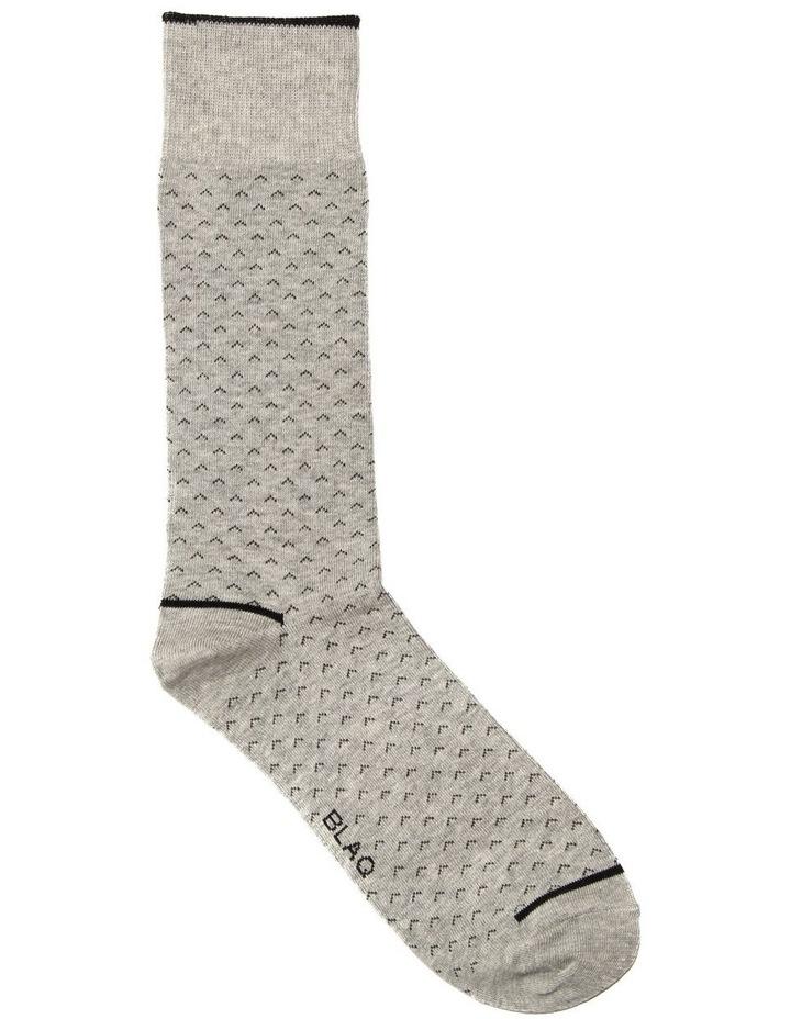 Birdseye Arrow Casual Sock image 1