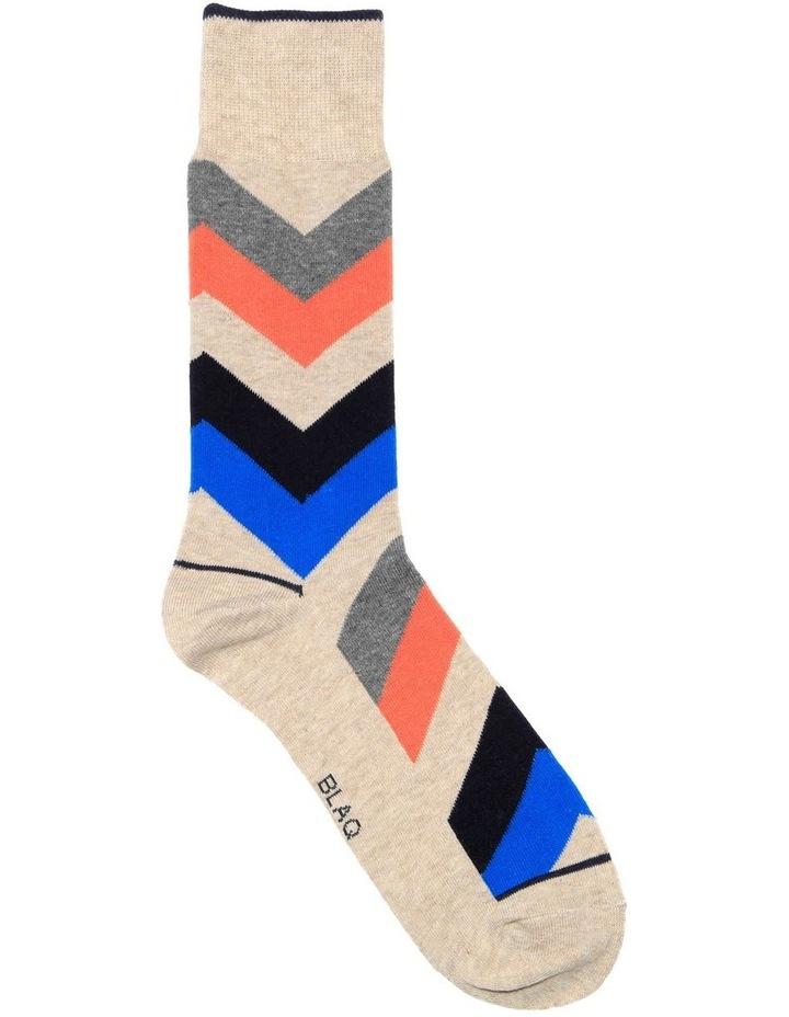 Chevron Casual Sock image 1