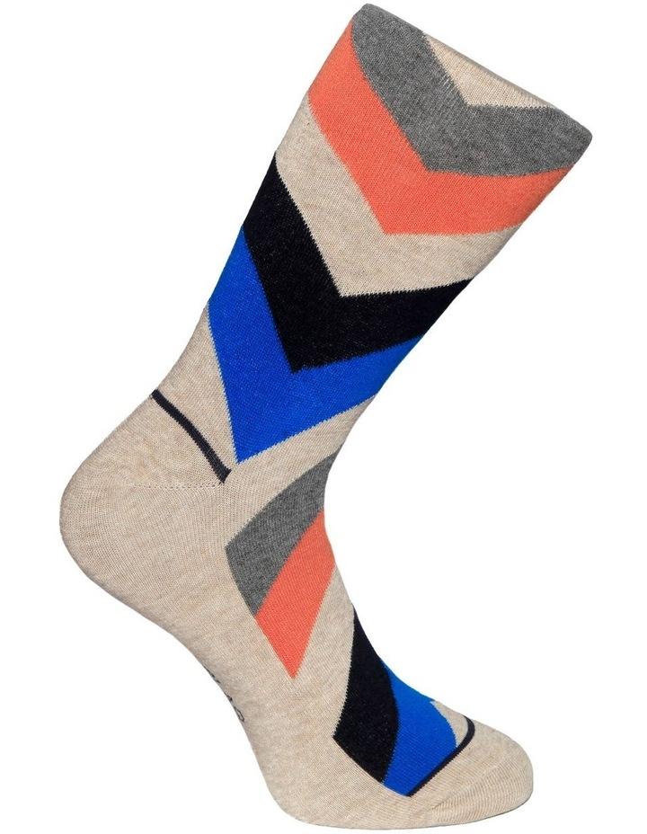 Chevron Casual Sock image 3